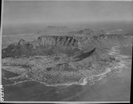 Aerial view of Cape Peninsula.